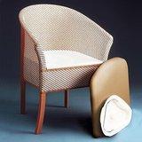 luxe toiletstoel Basket Weave_