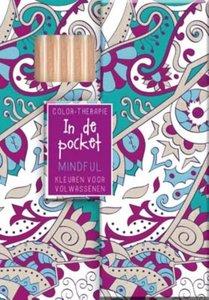 Kleurboek met potloodjes, in pocketformaat