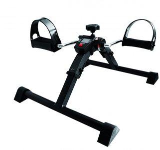 Opvouwbare fietstrainer met elektronisch display.