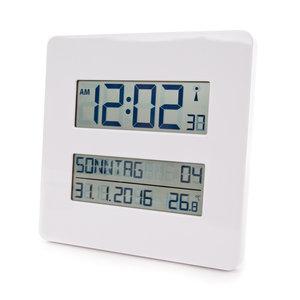 Digitale klok - radiografisch en temperatuurweergave