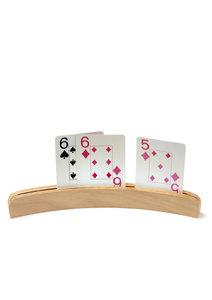 Kaartenstandaard - hout 25cm